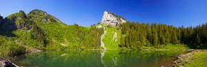 Alplersee im Riemenstaldnertal, <</a> Kt. Uri, Schweiz